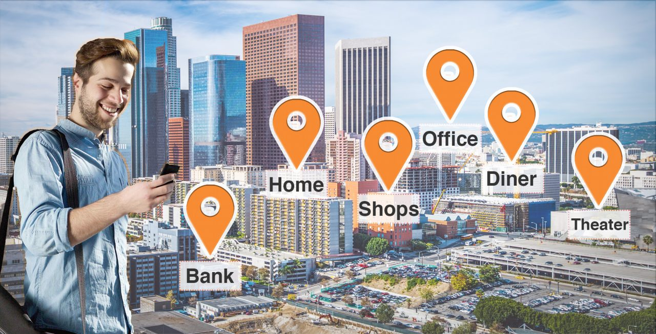 geo-behavioral location advertising lets marketers reach users based on their location in Los Angeles
