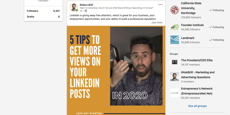There is one key tip to get attention on social media