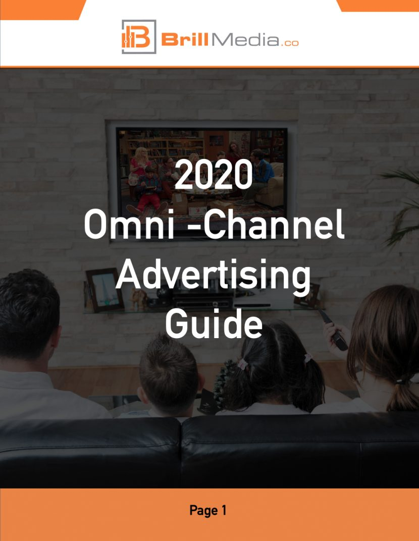 The first page of the 2020 Omn-Channel Advertising Guide