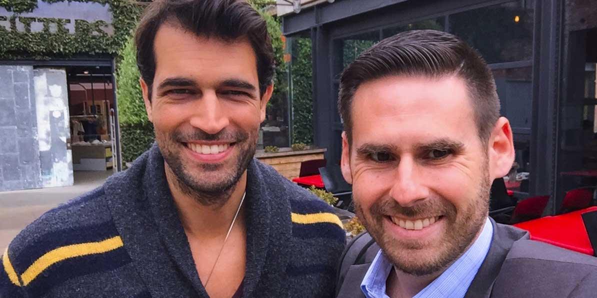 Periscope creator Alex Khan and Robert Brill