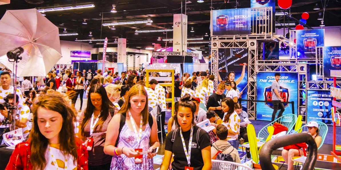 Vidcon is a great experiential marketing party