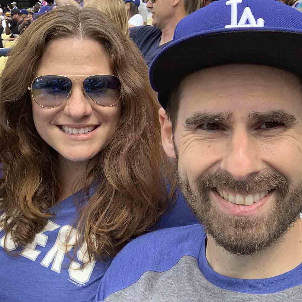 Serve ads to people who have recently been to Dodger Stadium using data from Dstillery