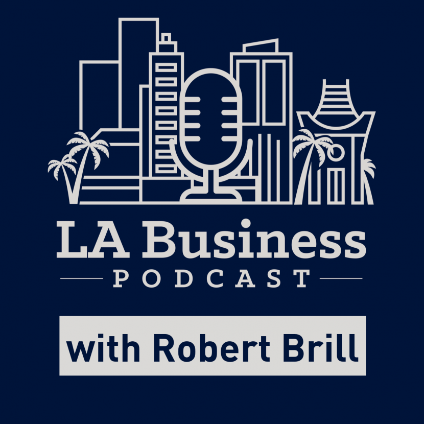 LA Business Podcast with Robert Brill logo