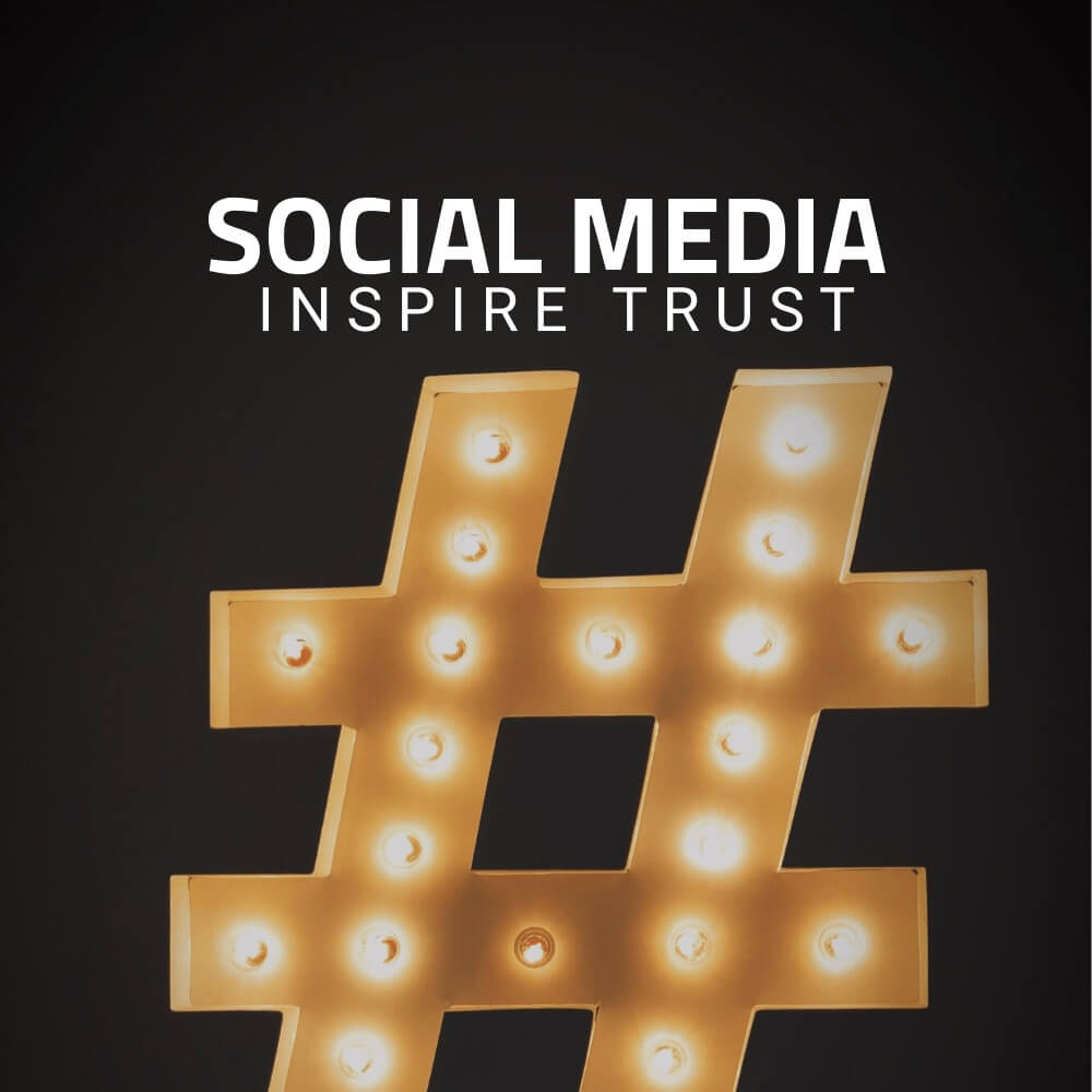 Social media is key to inspire trust in consumers