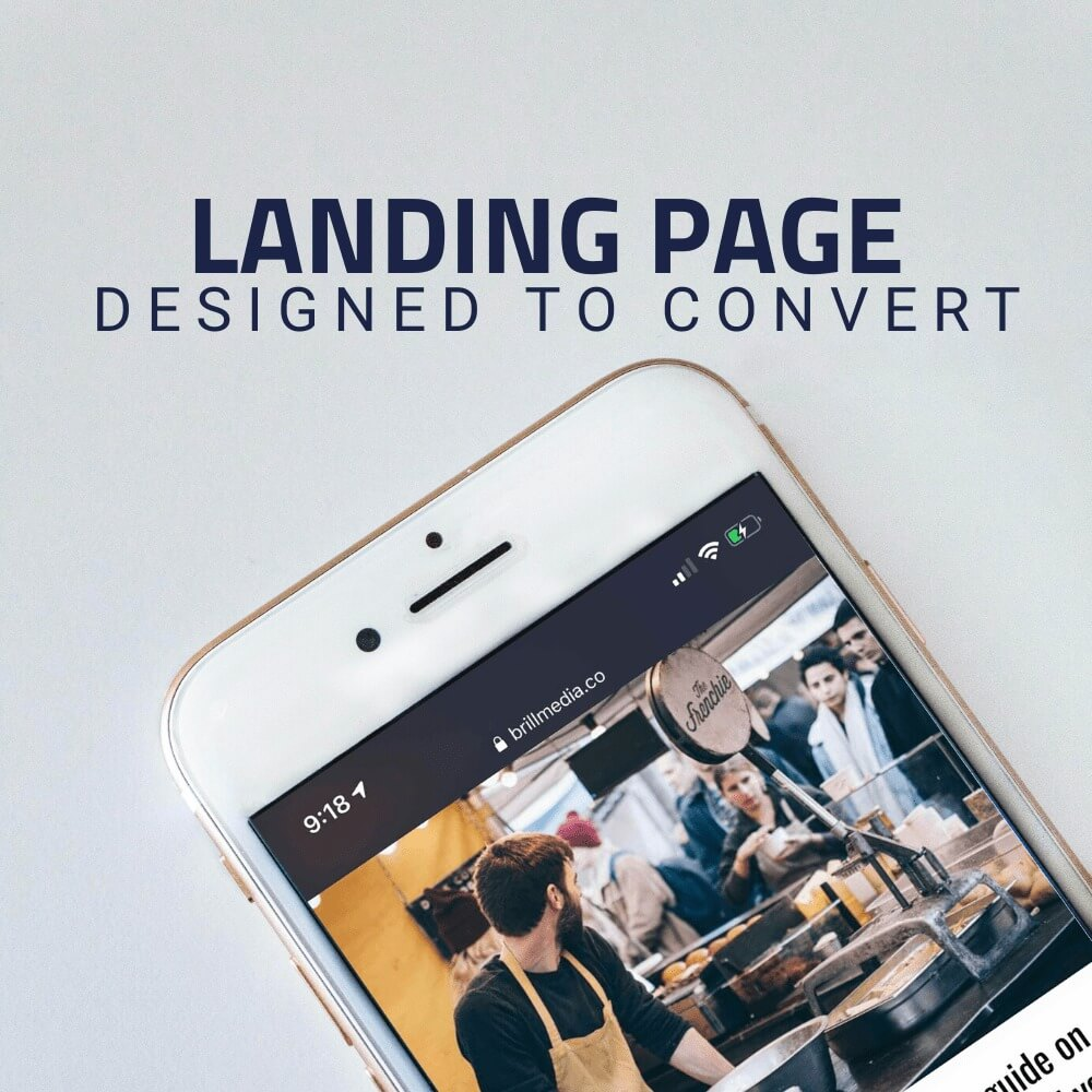 Build landing pages that turn prospects into customers