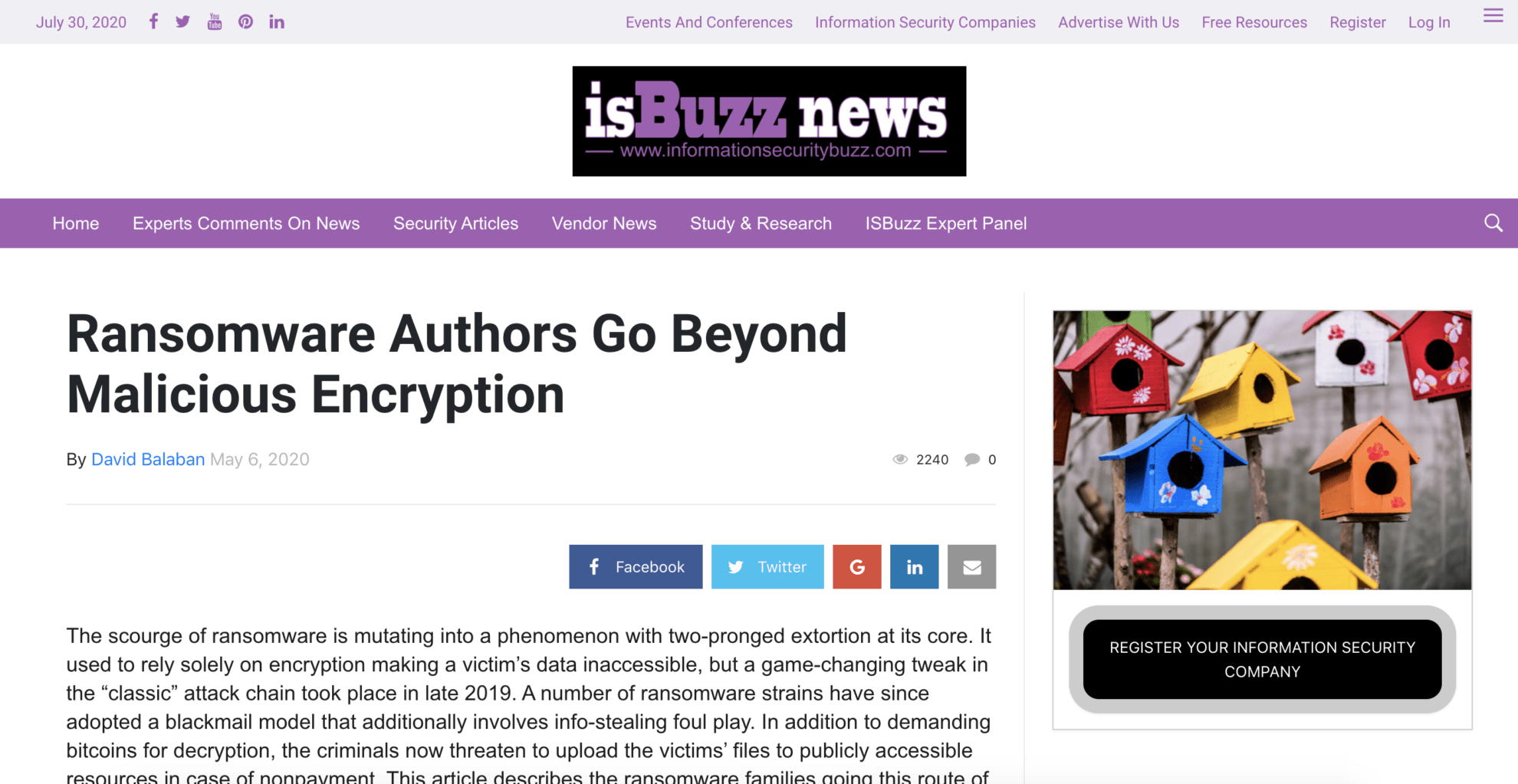Ransomware Authors