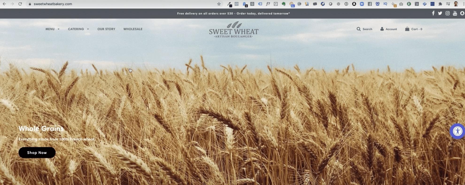 URL Targeting with Sweetheart Bakery